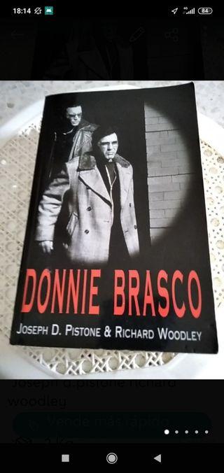 libro Ronnie brasco en buen estado