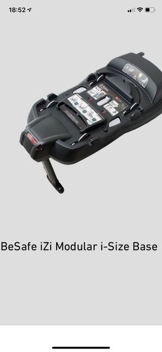 Base isofix be safe modular