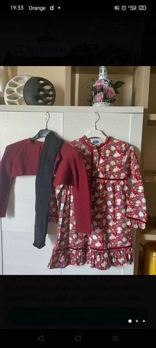 conjunto vestido y torrerita