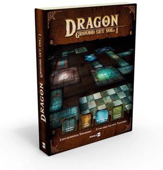 NUEVO Dragon Ground Set I losetas juegos rol mesa