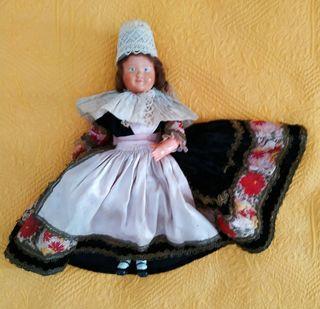 Muñeca de colección, antigua