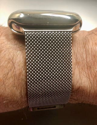 Correa + funda para Apple Watch 44mm.