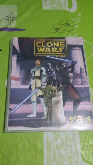 Álbum Staks Star War + juego