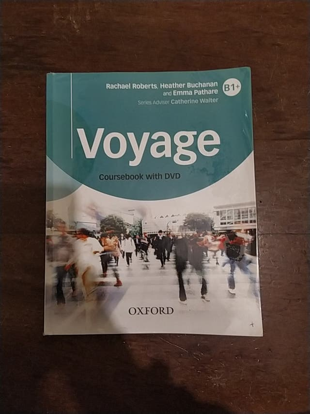 Libro de inglés: Voyage B1+