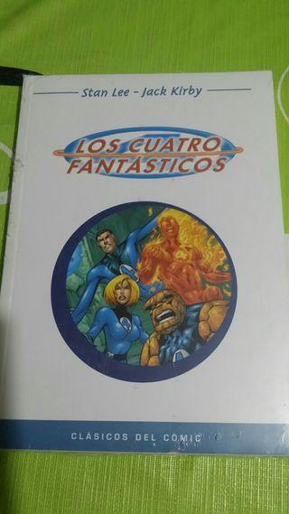 cómic 'los 4 fantásticos'