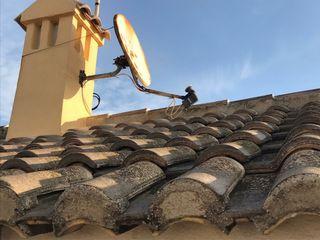Almussafes antenas , reparación