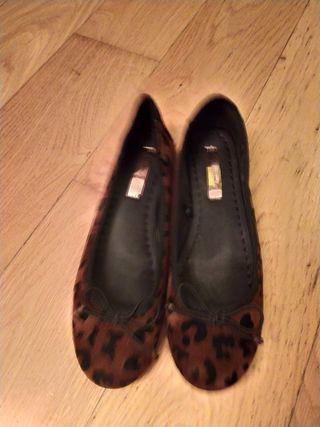 Manoletina estampado leopardo