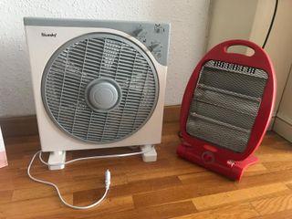 Ventilador + calentador