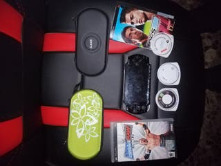 Super Pac PSP +juegos + funda {REBAJADO}