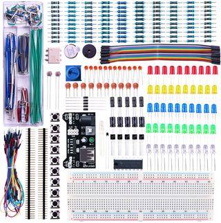 Kit Mejorado de Componentes Electrónicos arduino