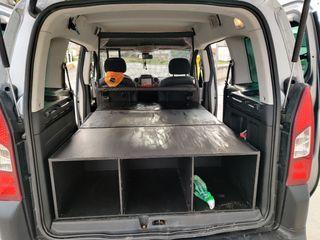 Mueble cama para Peugeot Partner tepee 2008-2016