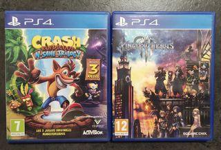Crash Bandicoot N.Sane Trilogy + Kingdom Hearts 3
