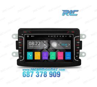 "RADIO GPS ANDROID 7.1 7"" RENAULT CAPTUR / DACIA US"
