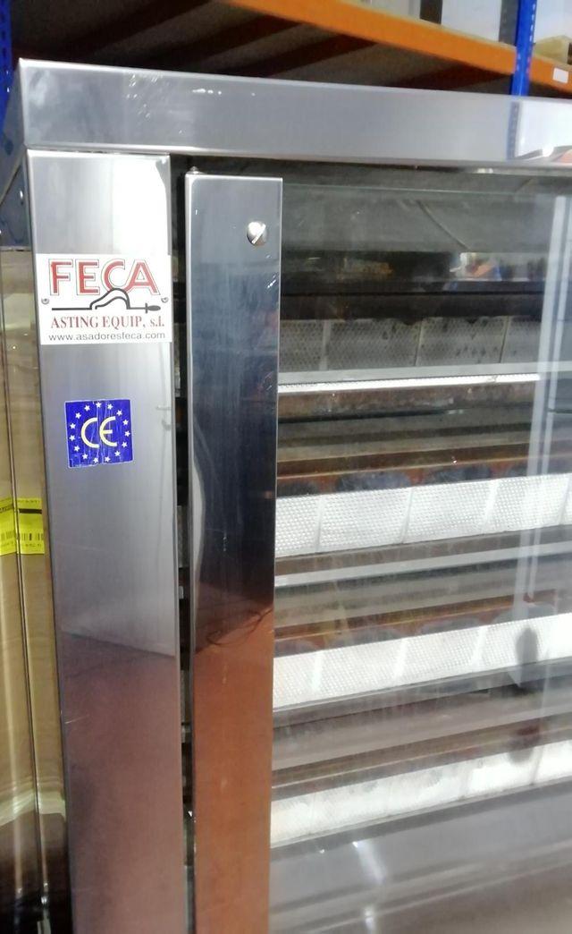 ASADOR DE POLLOS A GAS M. FECA