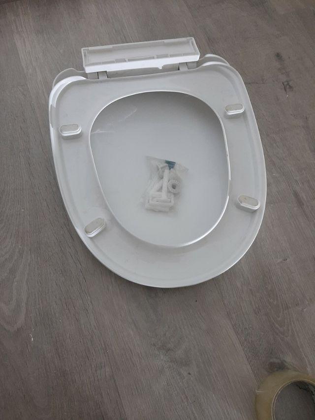 tapadera de wc de plastico