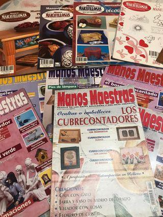 colección revistas manualidades
