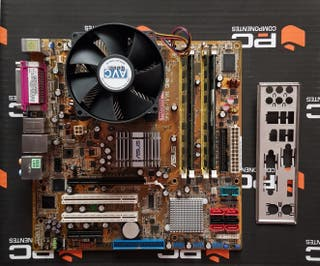Placa Base Asus P5B-VM DO LGA775+Core2 Duo+6gb