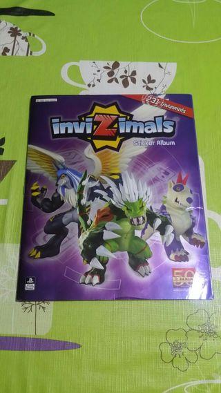 COMPLETO!!! álbum Invizimals