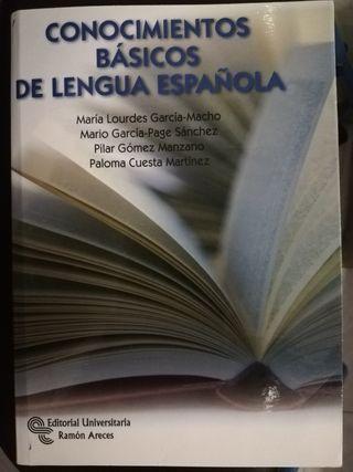 libro conocimientos básicos de lengua española