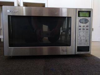 Microondas encastrable con grill Sharp