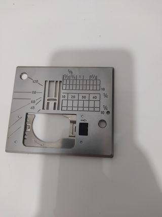 Placa base Janome recta MC6600