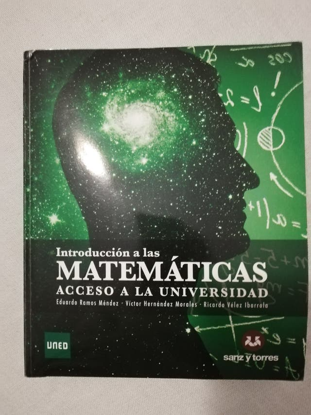 libro introducción a las matemáticas.
