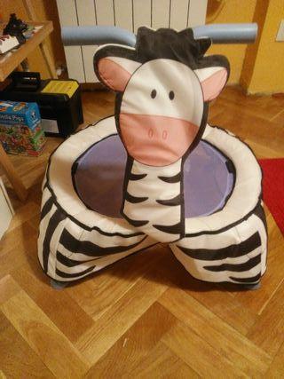 Cama elastica para bebe, a partir de 6-9 meses