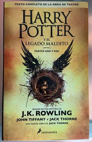 Harry Potter y el Legado maldito partes 1 y 2