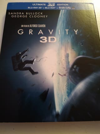 Bluray. Gravity 3D.
