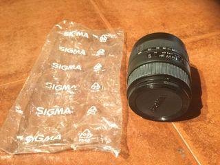 Objetivo Sigma (cámara Canon)