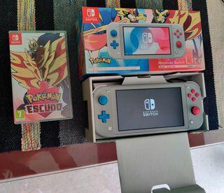Nintendo Switch Lite Ed Pokemon+ Garantía