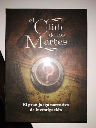 Juego de Rol y/o mesa El Club de los Martes