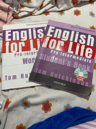 Libro de inglés ore intermedio de Oxford con CDrom
