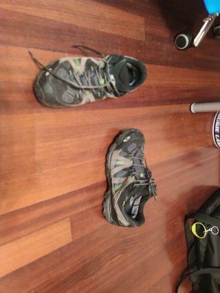 Zapatillas salomon con goretex