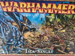 isla de sangre Warhammer