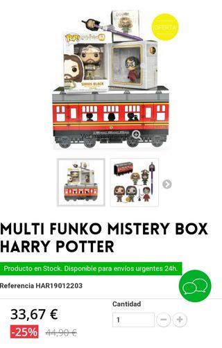 nuevo funko pop harry potter