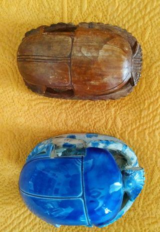 Amuletos egipcios: escarabeos