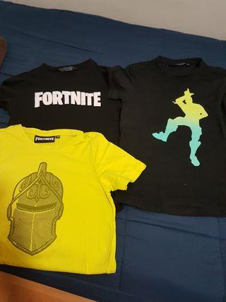 Camisetas niño fortnite