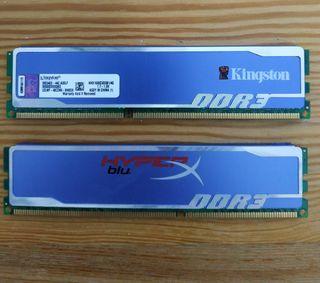 Memorias RAM 4gb cada una