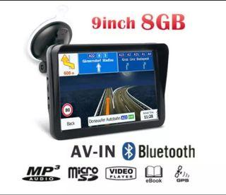 GPS 9 pulgadas igo Primo Truck Bluetooth