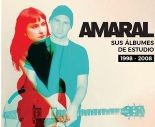 Amaral sus albunes de estudio 1998 2008