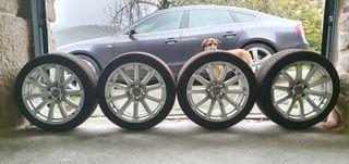4 llantas ORIGINALES AUDI A5 y 4 ruedas MICHELÍN