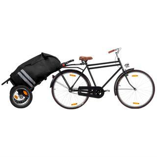 Remolque carrito de carga para bicicleta plegable