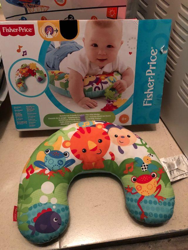 Cojin actividades bebé Fisher Price