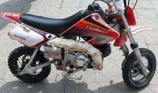 pit cross 110cc moto enduro