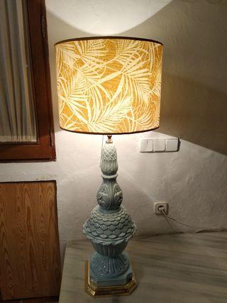 Lámpara de cerámica vintage