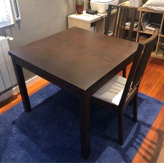 Mesa Comedor Extensible + 2 sillas