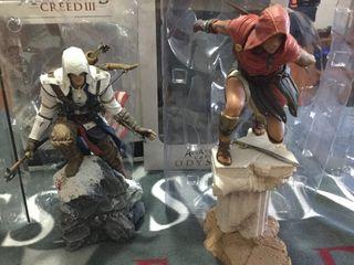Pack figuras Assassins Creed III + Kassandra