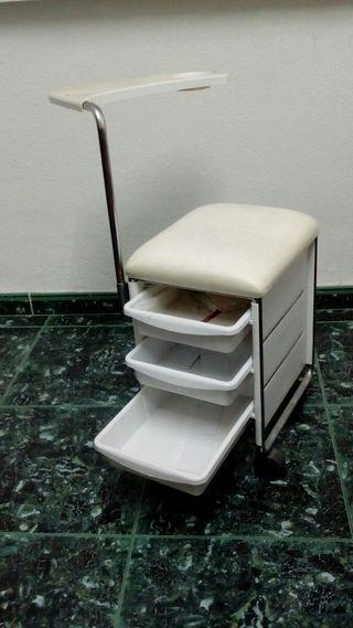 silla manicura
