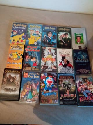 Películas en cintas video VHS Disney Infantiles